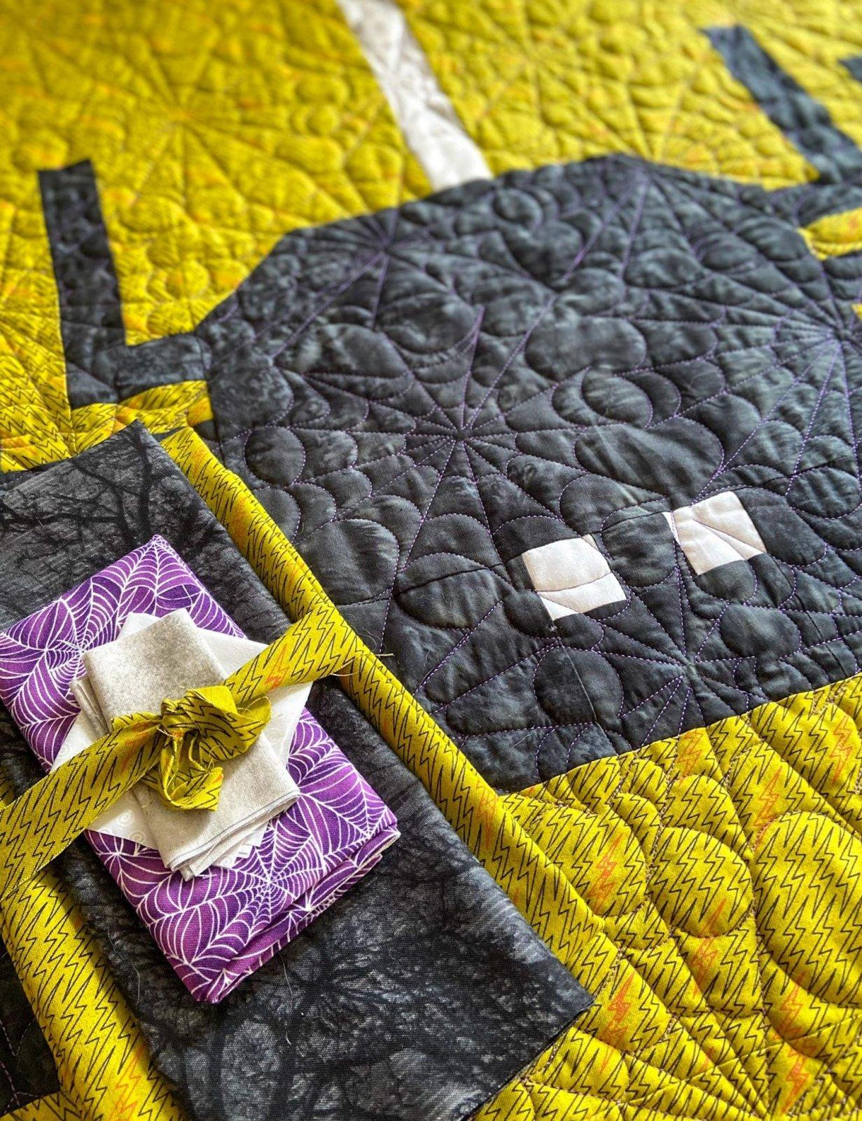 Jumbo Spider Quilt Kit