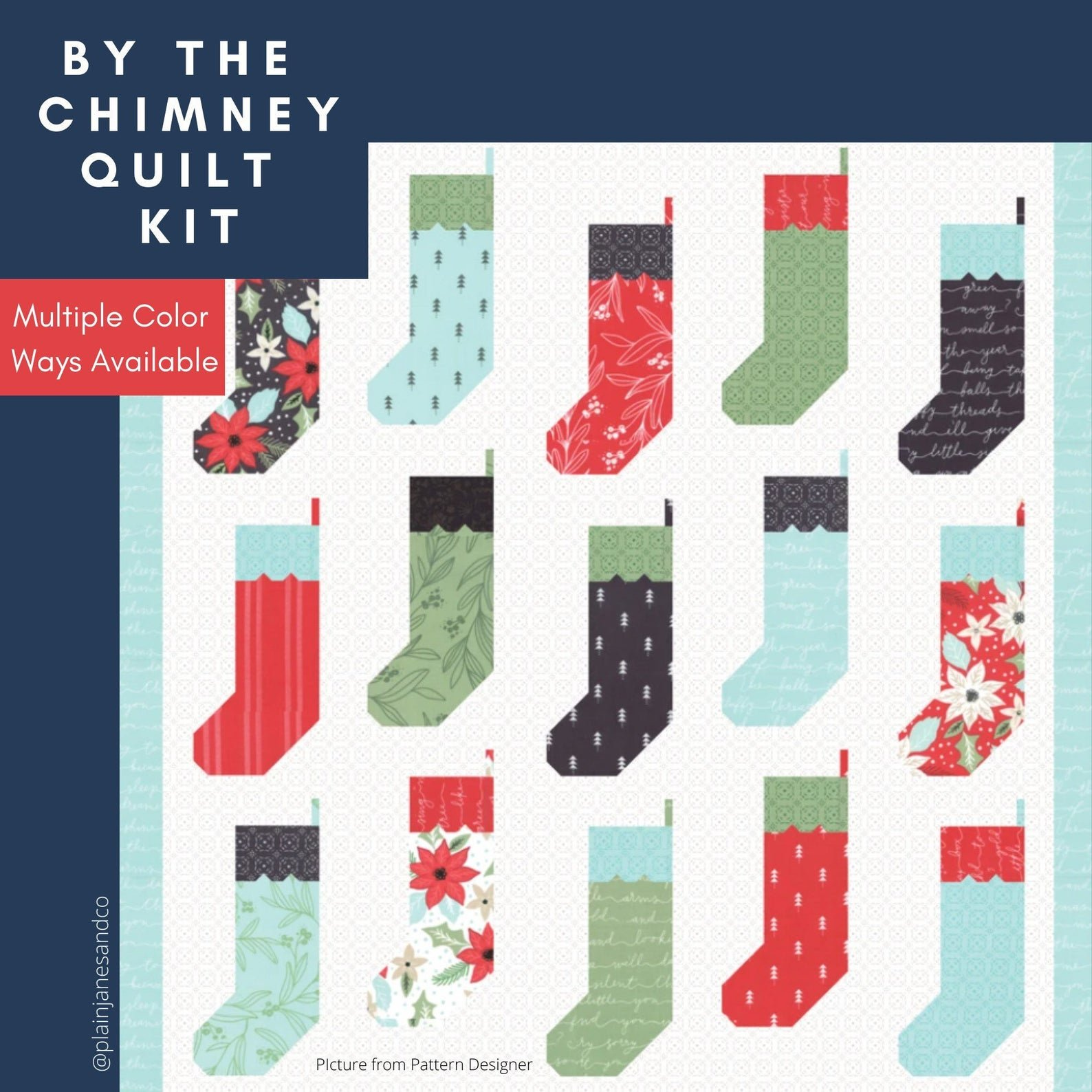 By the Chimney Quilt Kit