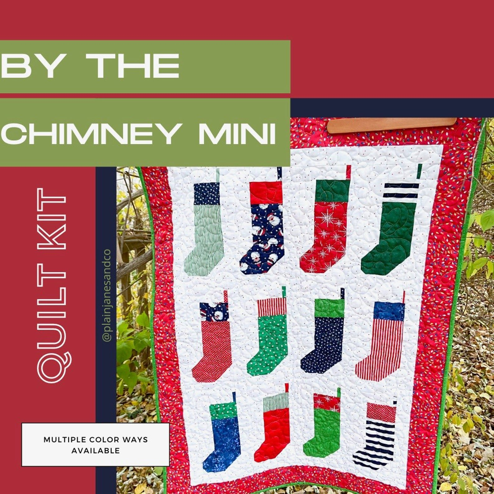 By the Chimney Mini Quilt Kit