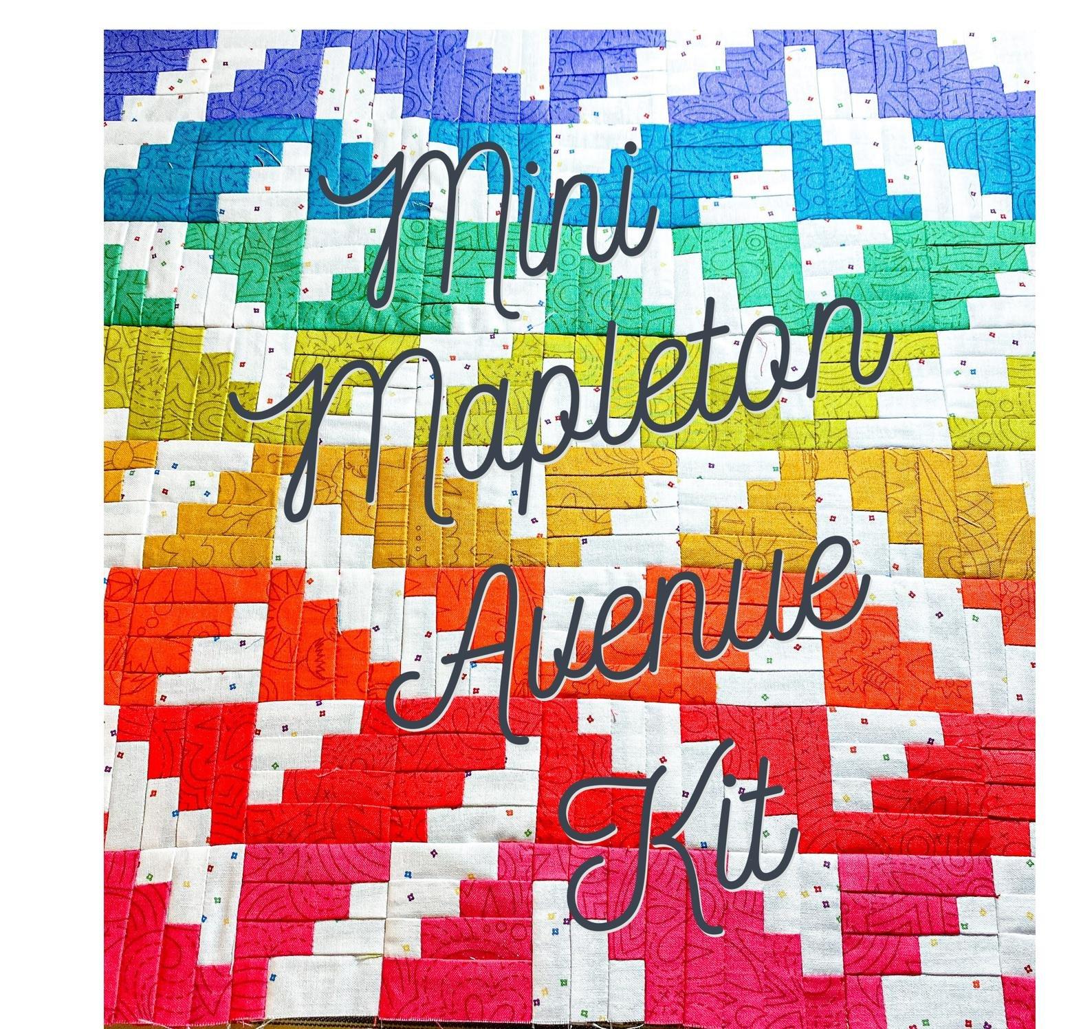 Mini Mapleton Avenue Quilt Kit