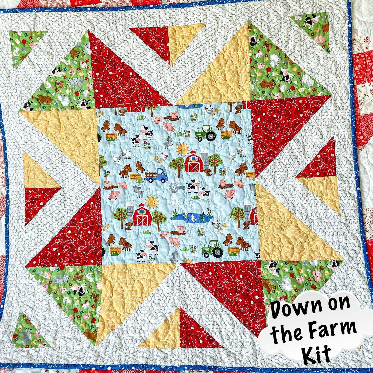 Down on the Farm Quilt Kit