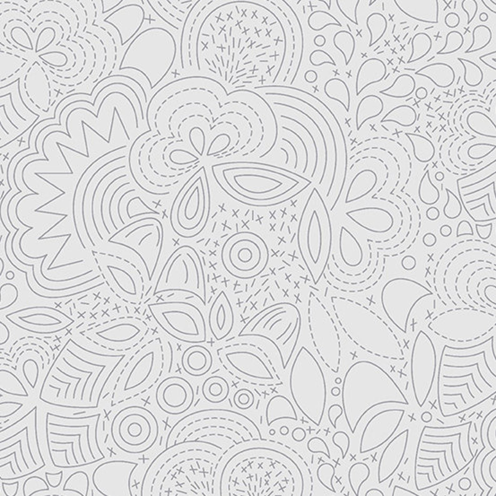 Shadow Stitched Sun Print 2020 by Alison Glass for Andover Fabrics