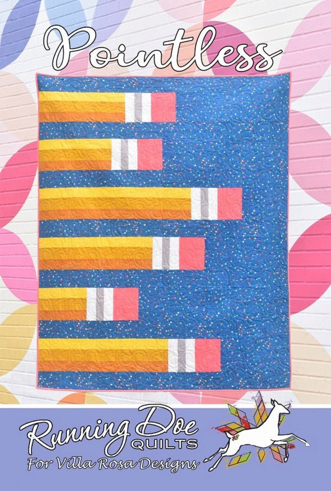 Pointless Quilt Pattern by Running Doe Quilts