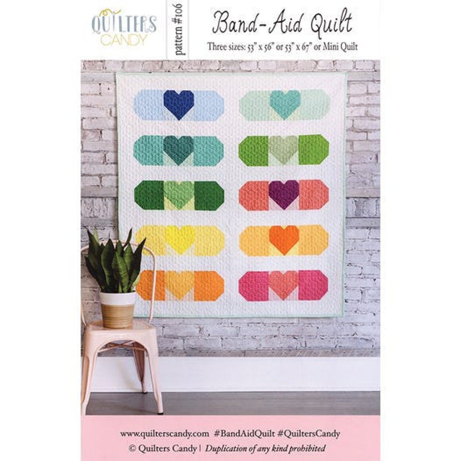 Band-Aid Quilt Pattern by Quilters Candy