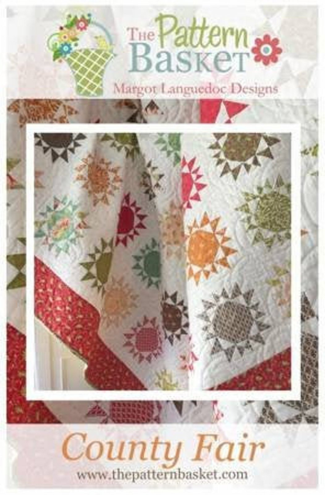 County Fair Quilt Pattern by The Pattern Basket