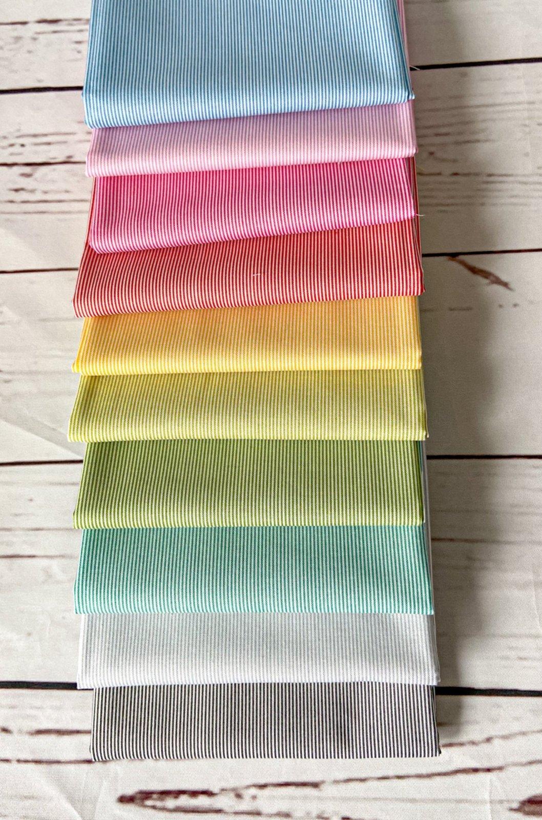 Rainbow Stripes Half Yard Bundle 2.0 -