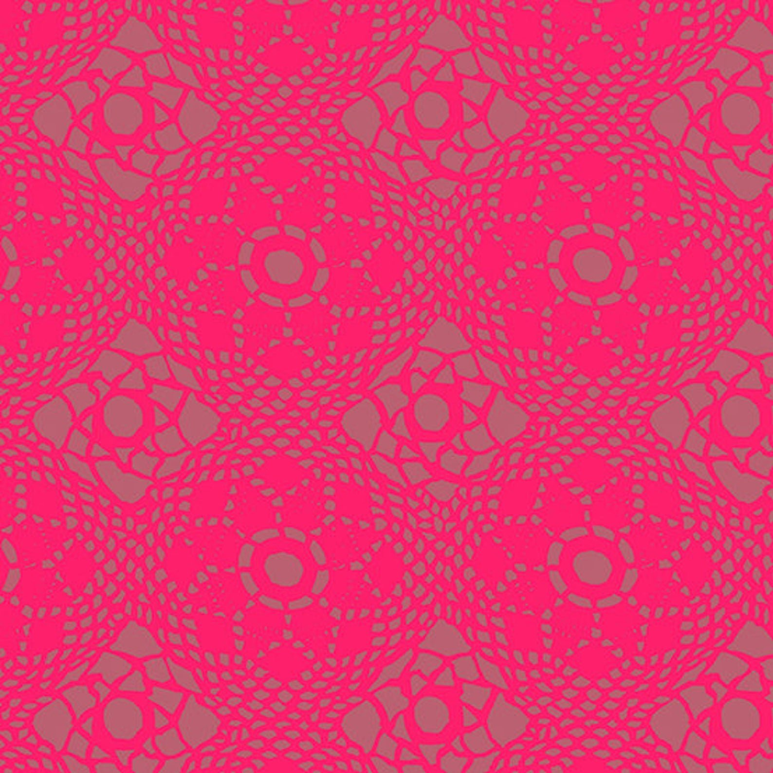 Strawberry Crochet Sun Print 2021 by Alison Glass - Fat Quarter