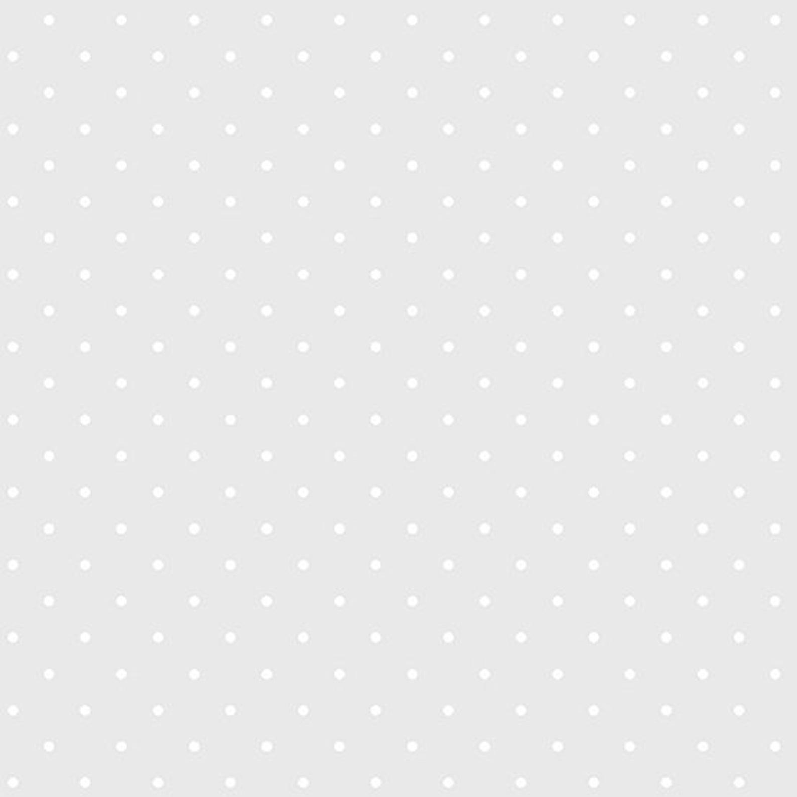 Light Grey Candy Dot by Andover Fabrics - Fat Quarter