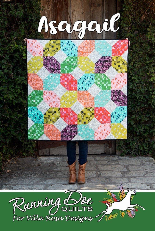 Asagail Quilt Pattern by Running Doe Quilts