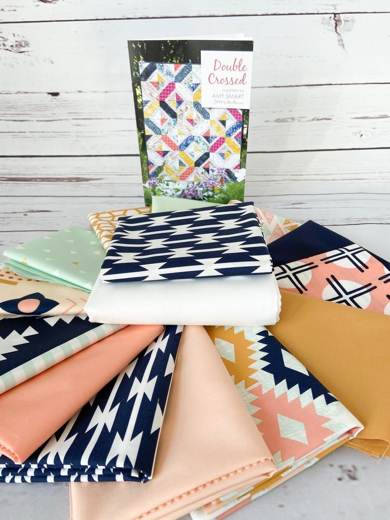 Double Crossed Quilt Kit