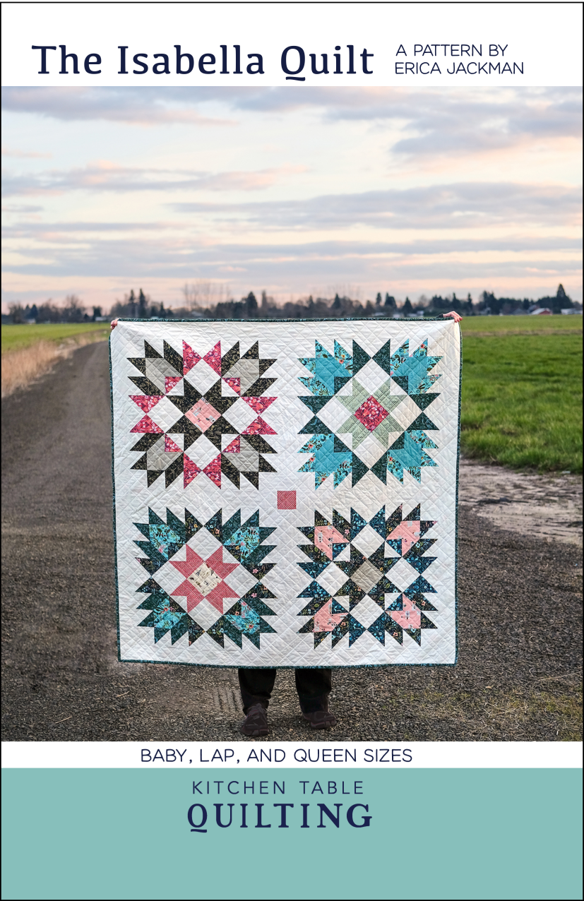 The Isabella Quilt Pattern by Kitchen Table Quilting