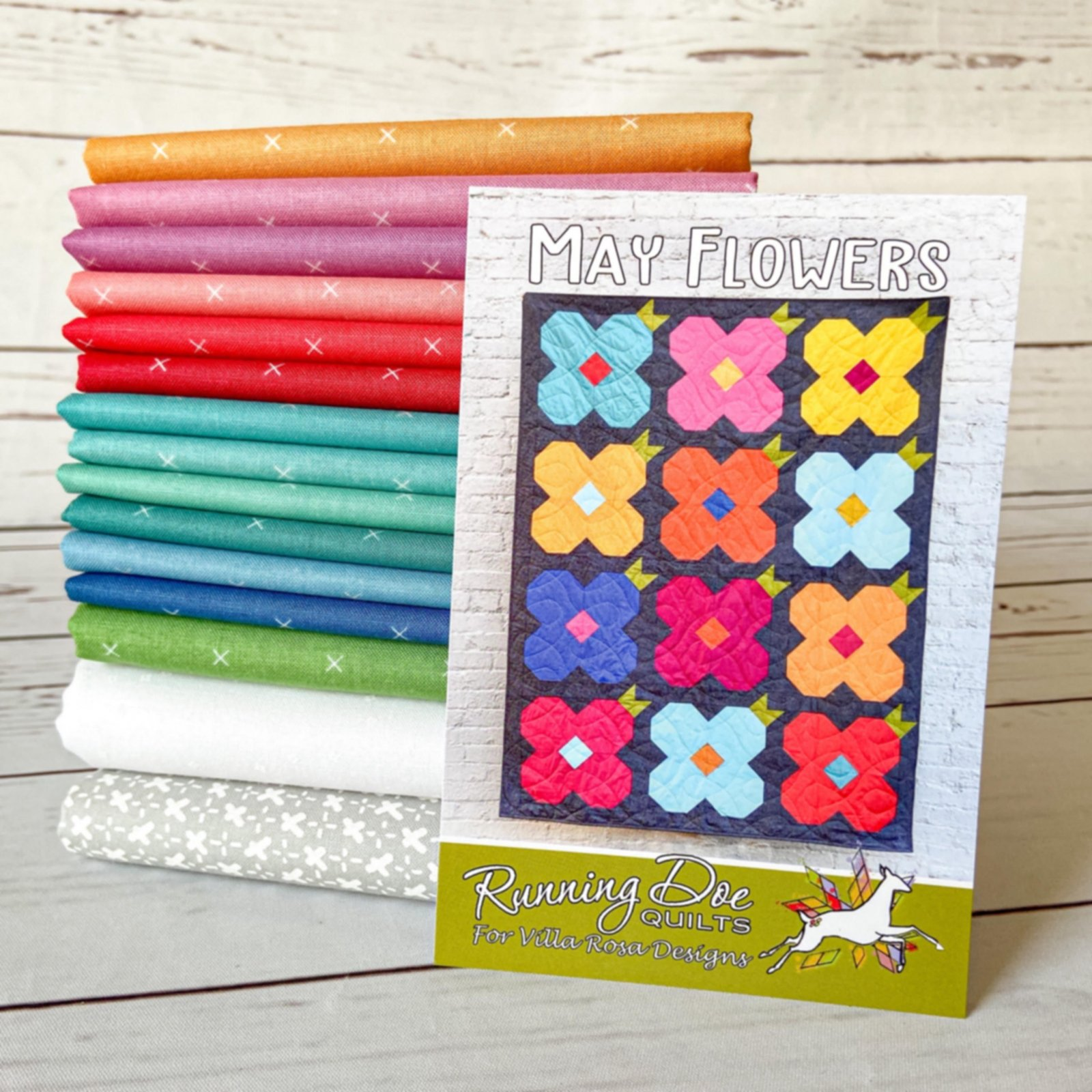 May Flowers Quilt Kit