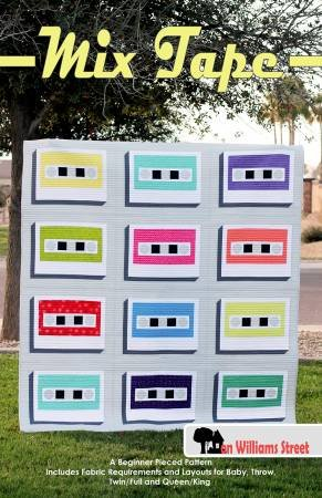 Mix Tape Quilt Pattern from On Williams Street