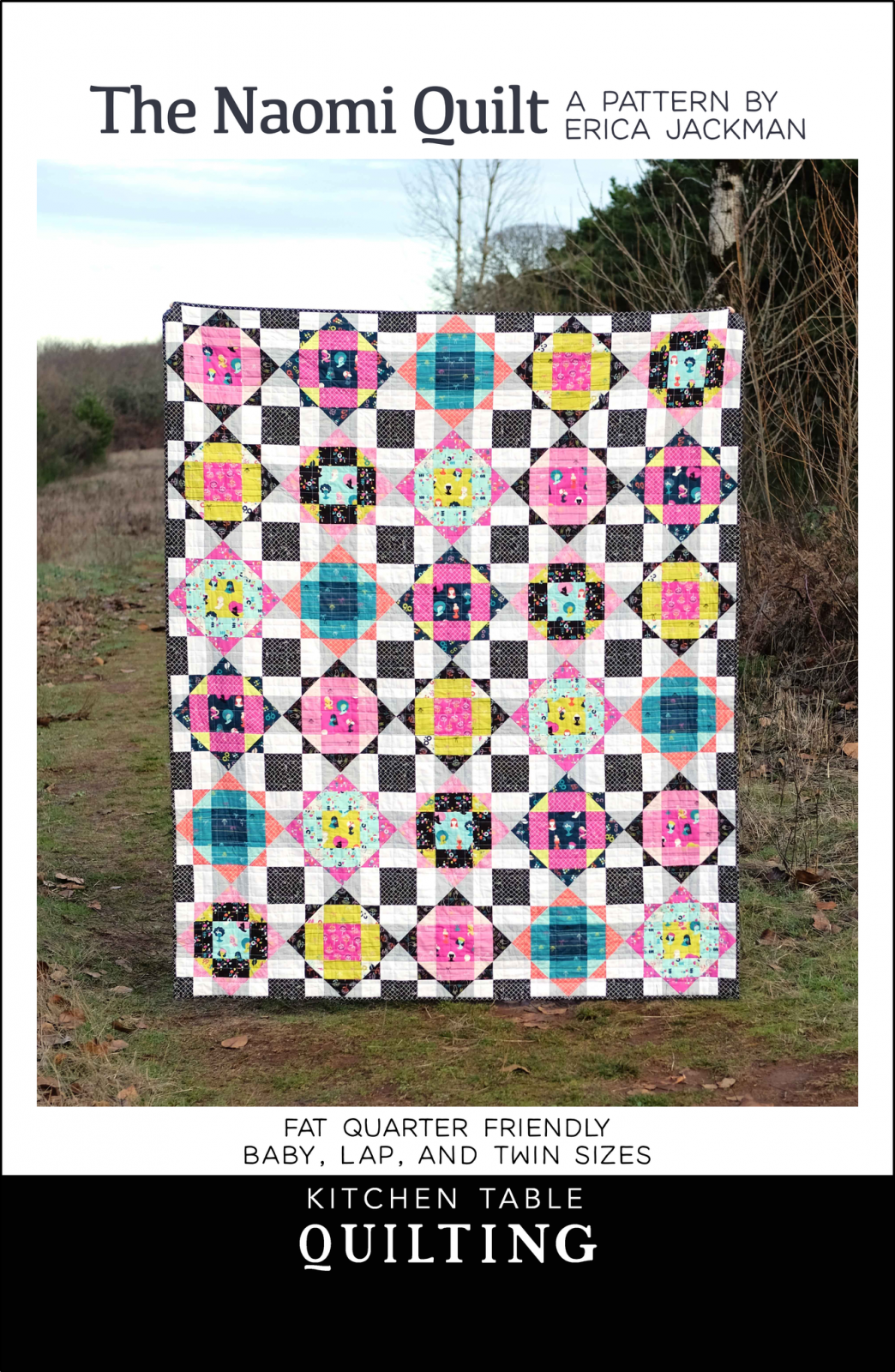 The Naomi Quilt Pattern by Kitchen Table Quilting