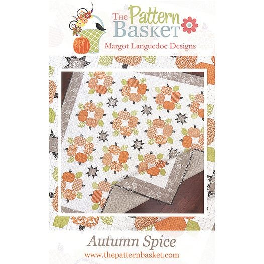 Autumn Spice Quilt Pattern by The Pattern Basket