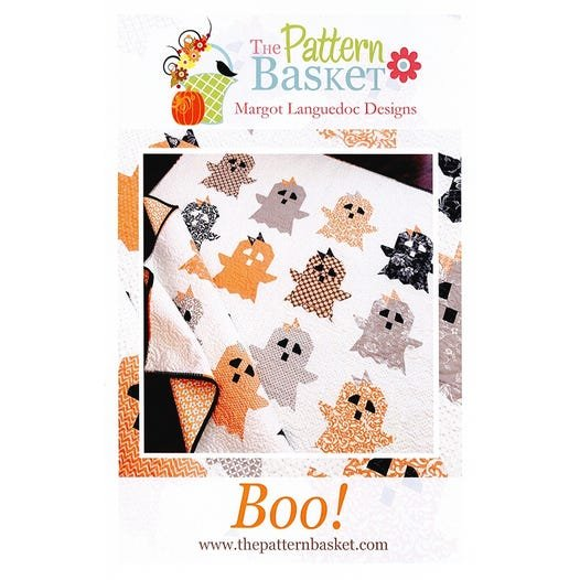 Boo Quilt Pattern by The Pattern Basket