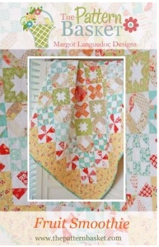 Fruit Smoothie Quilt Pattern by The Pattern Basket