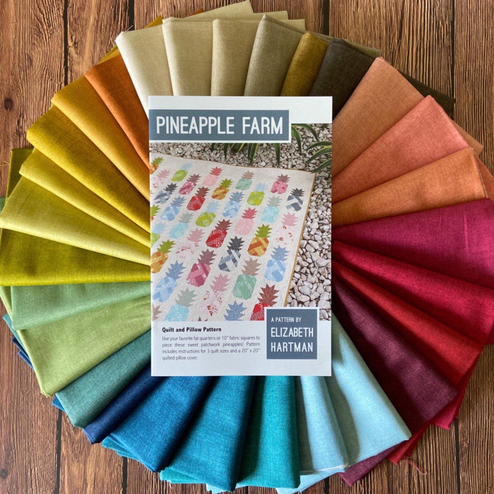 Pineapple Farm Quilt & Pillow Kit
