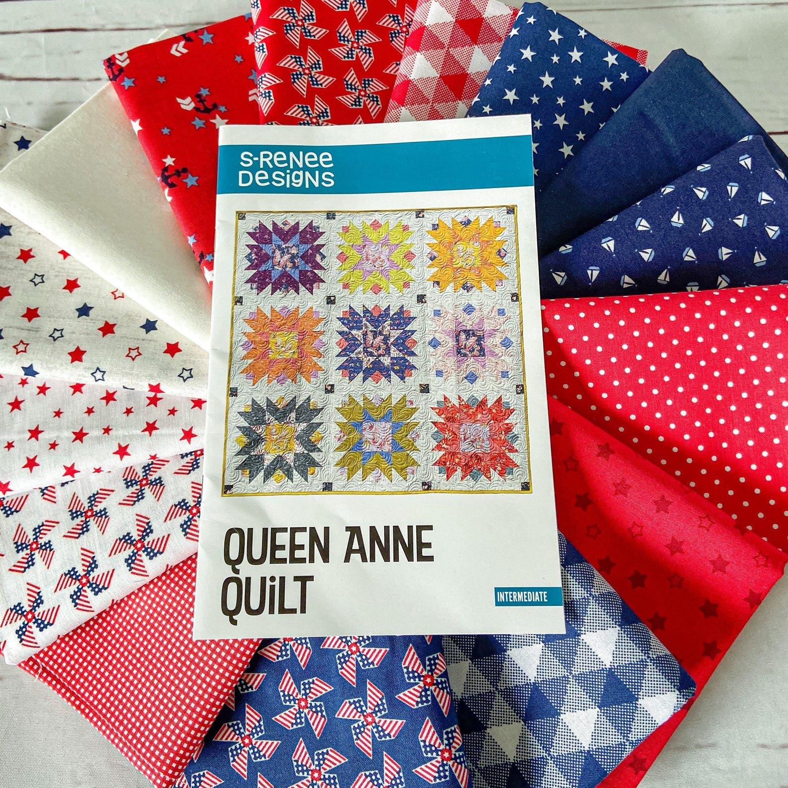 Queen Anne Americana Quilt Kit
