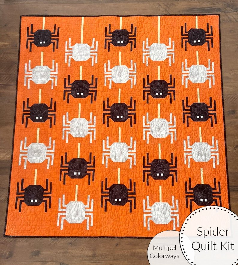 Spider Quilt Kit