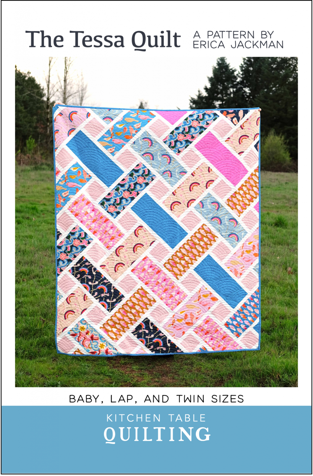 The Tessa Quilt Pattern by Kitchen Table Quilting
