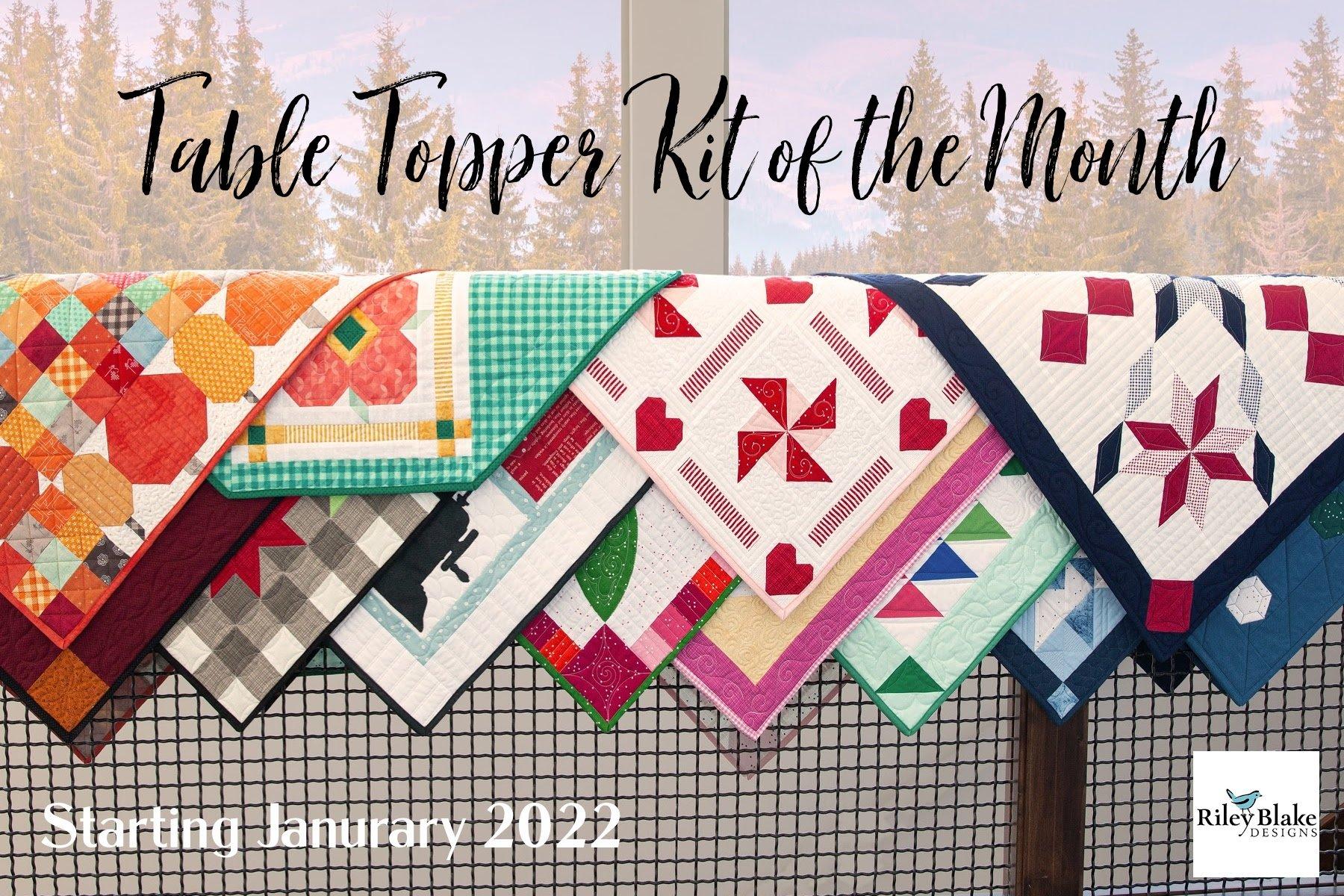 Full Reservation- 2022 Table Topper of the Month Program