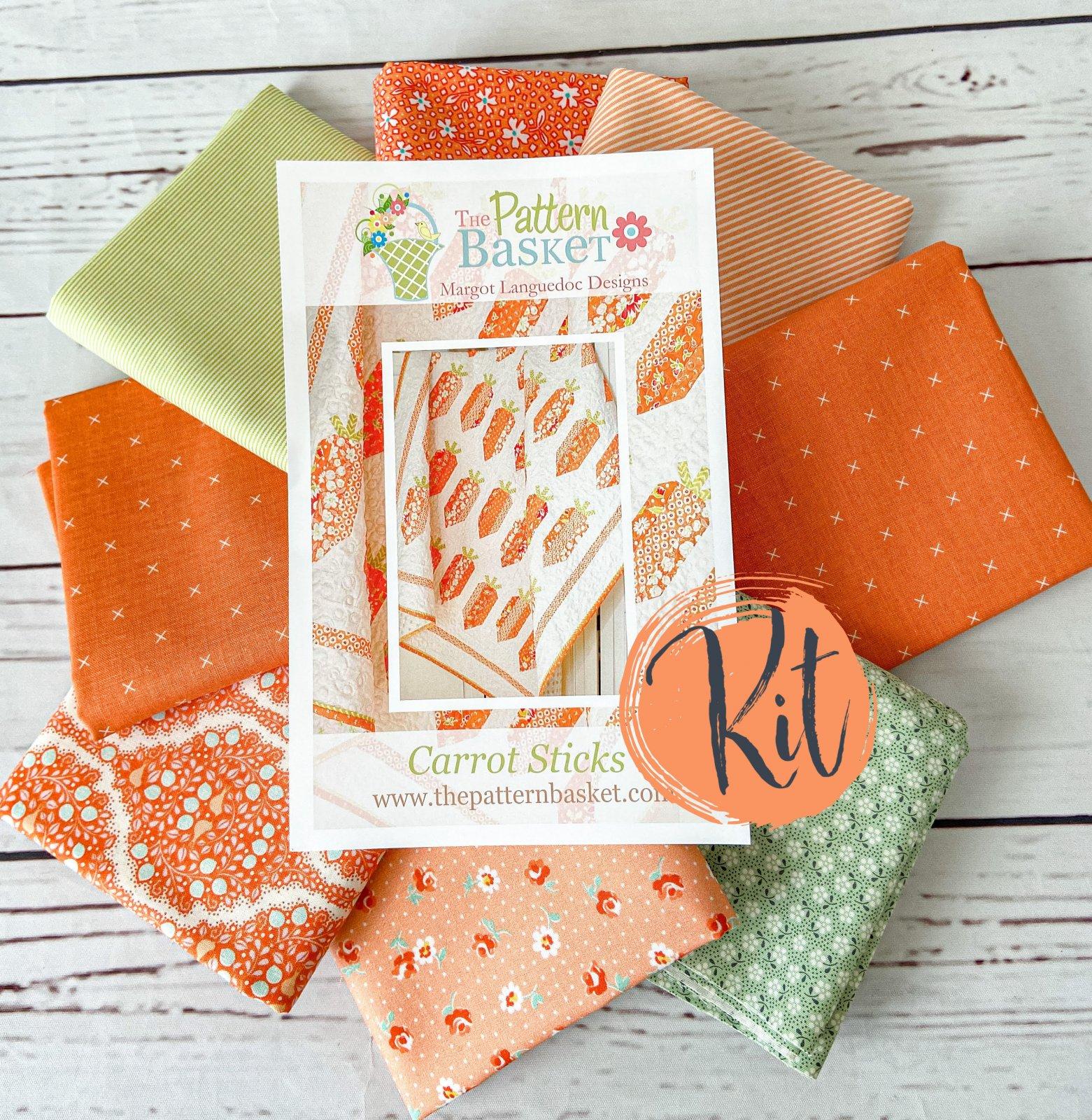 Carrot Sticks Quilt Kit