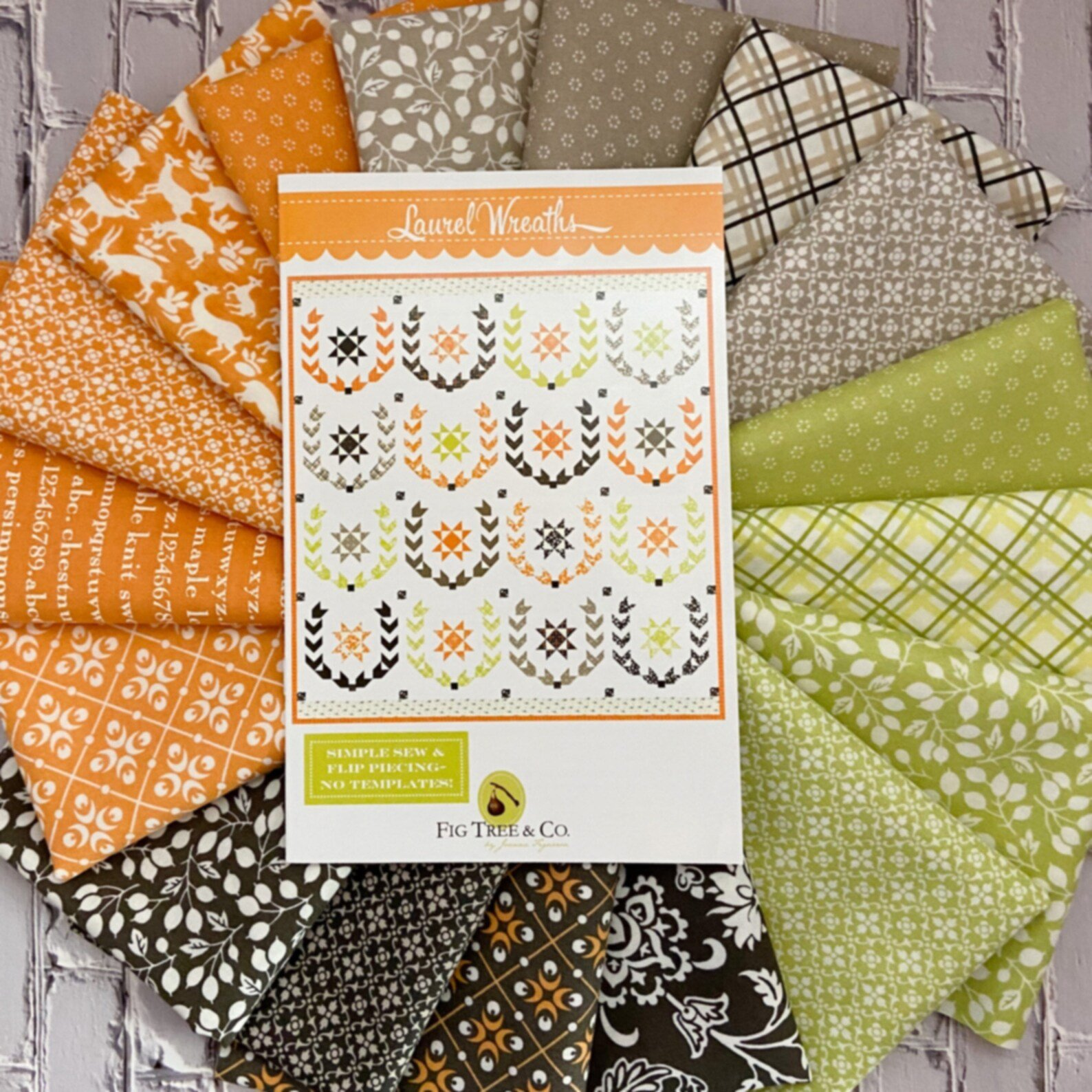 Laurel Wreath Quilt Kit