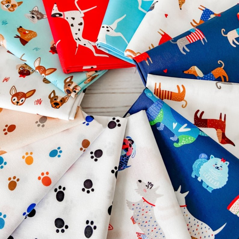 Whiskers and Tails Half Yard Bundle