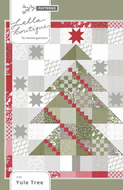 Yule Tree Quilt Pattern by Lella Boutique
