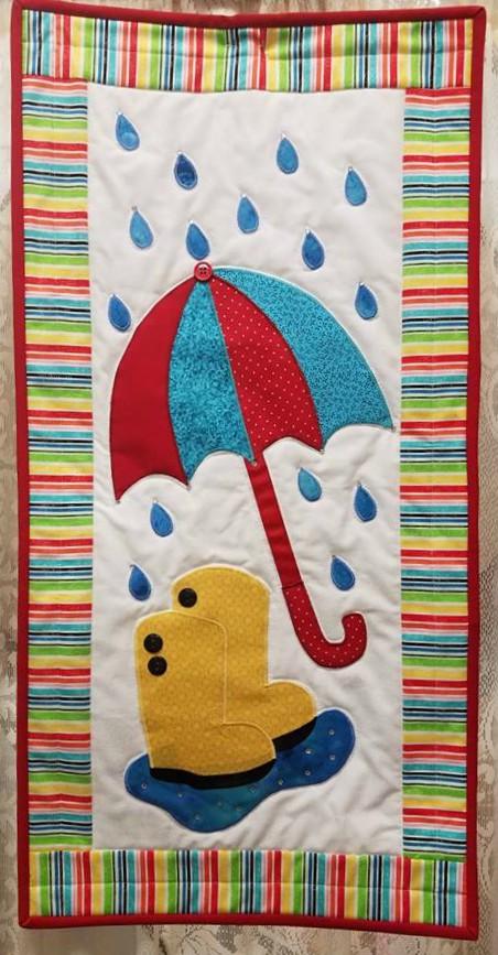 Rainy Days Wall Hanging