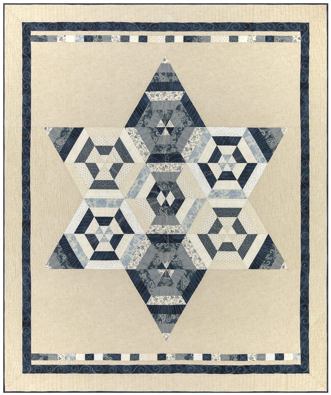 Strip Triangle Quilt