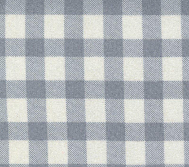 Yuletide Gatherings Smoke Moda Flannel Grey