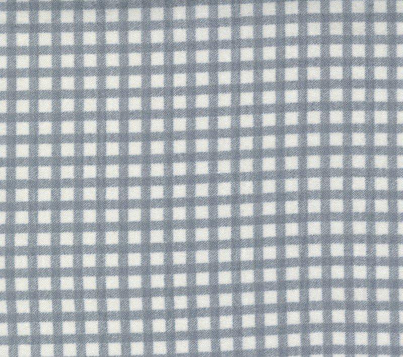 Yuletide Gatherings Smoke Snow Moda Flannel Grey