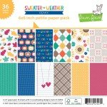 Lawn Fawn Single-Sided Petite Paper Pack 6X6 36/Pkg-Sweater Weather Remix, 12 ...