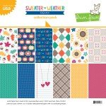 Lawn Fawn Double-Sided Collection Pack 12X12 12/Pkg-Sweater Weather Remix, 6 D...