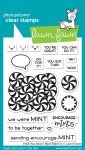 Lawn Fawn Clear Stamps 3X4-How You Bean? Mint Add-On