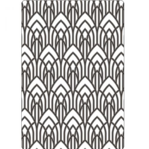 Texture Fades Embossing Folder By Tim Hol-Arched