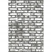 3-D Texture Fades Mini Brickwork