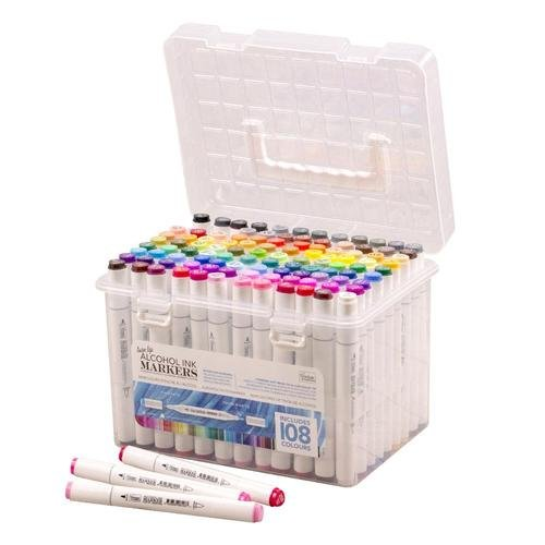 108 Twin Tip Alchol Markers