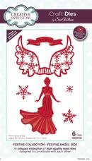 Creative Expressions Craft Dies By Sue Wilson-Festive Angel 2020
