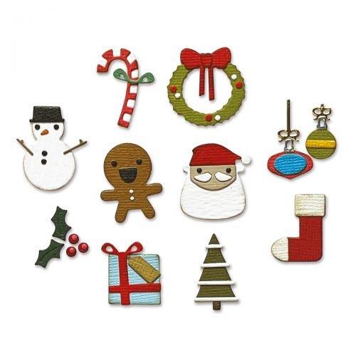Sizzix ThBy Tim Holtz 11/Pkg-Christmas Minis