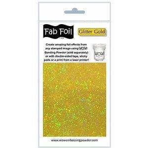 Fab Foil Glitter Gold