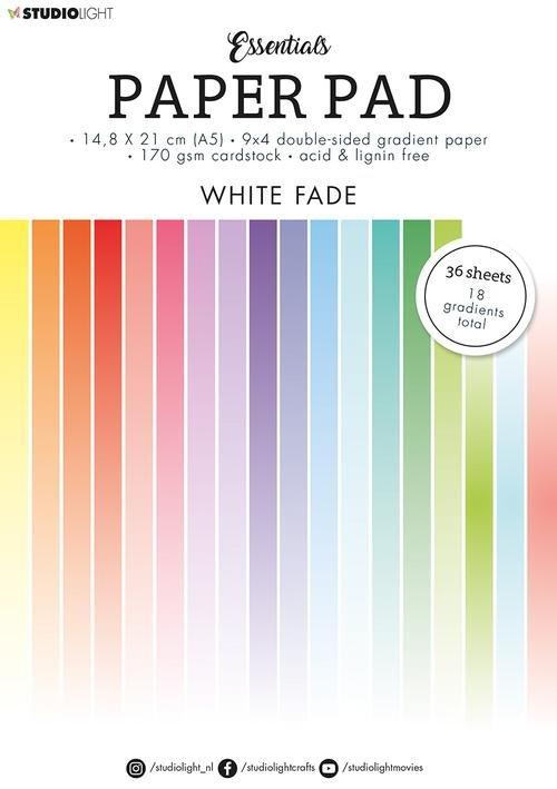 White Fade Paper Pad