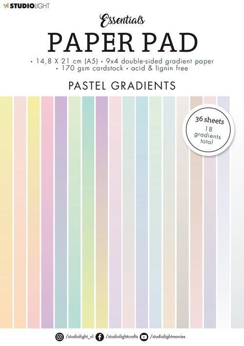 Passtel Gradients Paper Pad