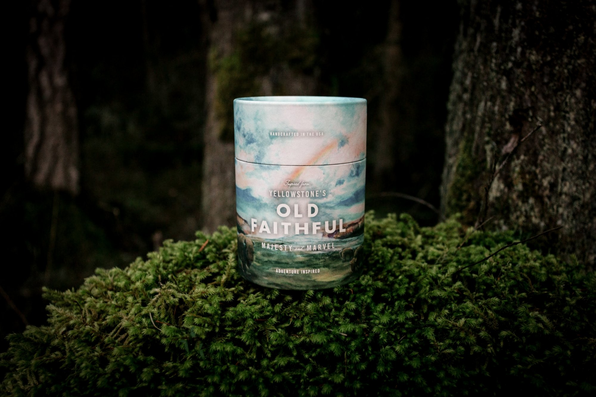 THIS LAND OLD FAITHFUL CANDLE 11OZ