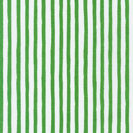 Dots and Stripes Delights Green stripes
