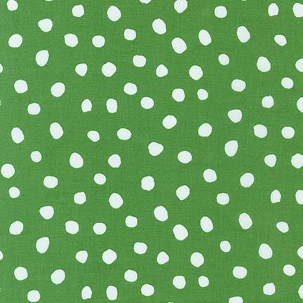 Dots and Stripes Delights Green Dots