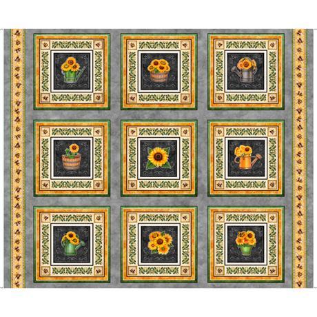 QT-Sunflower Picture Patche