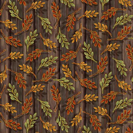 QT- Harvest Elegants ( leaf springs -Brown)